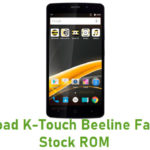 K-Touch Beeline Fast Plus Stock ROM