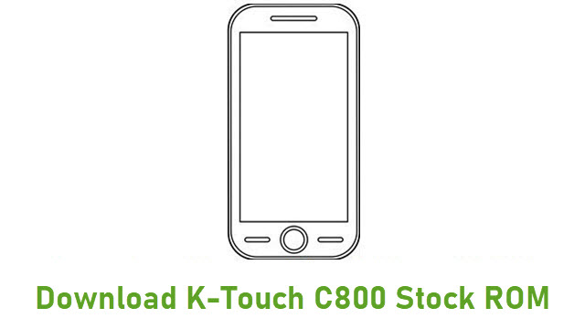 Download K-Touch C800 Stock ROM