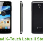K-Touch Lotus II Stock ROM