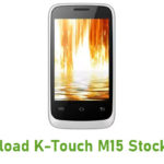 K-Touch M15 Stock ROM