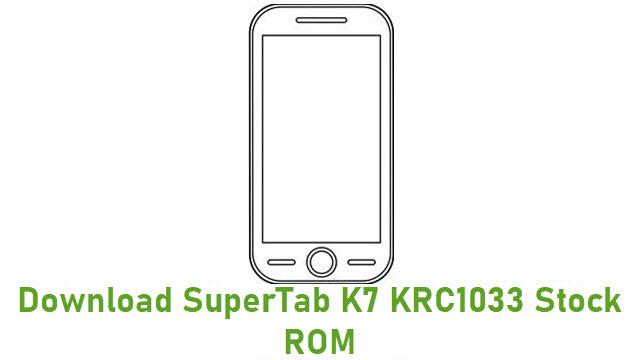 Download SuperTab K7 KRC1033 Stock ROM
