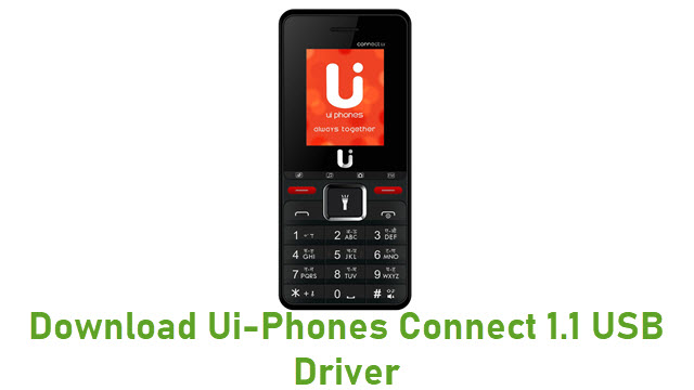 Download Ui-Phones Connect 1.1 USB Driver