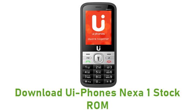 Download Ui-Phones Nexa 1 Stock ROM