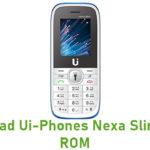 Ui-Phones Nexa Slim Stock ROM