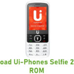Ui-Phones Selfie 2 Stock ROM