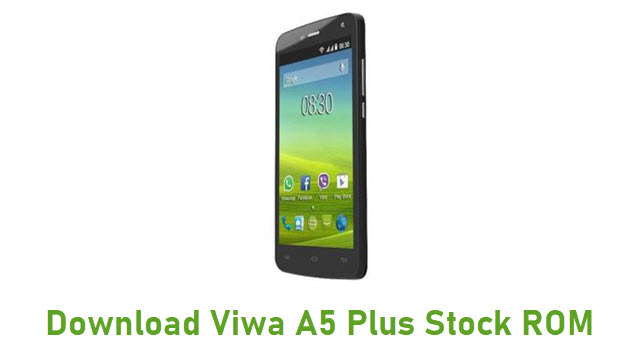 Download Viwa A5 Plus Stock ROM