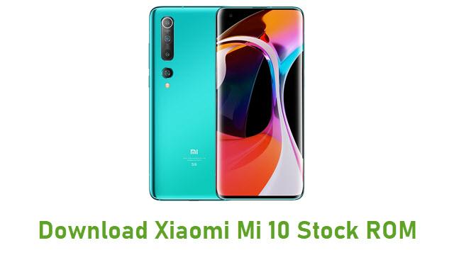 Download Xiaomi Mi 10 Stock ROM
