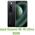 Download Xiaomi Mi 10 Ultra Stock ROM