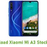 Download Xiaomi Mi A3 Stock ROM