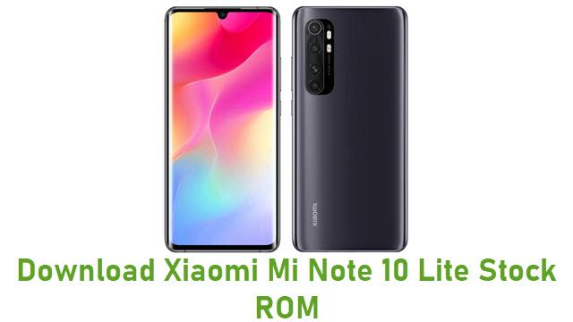 Download Xiaomi Mi Note 10 Lite Stock ROM
