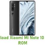 Xiaomi Mi Note 10 Stock ROM