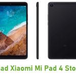 Xiaomi Mi Pad 4 Stock ROM