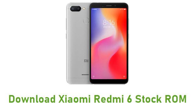Download Xiaomi Redmi 6 Stock ROM