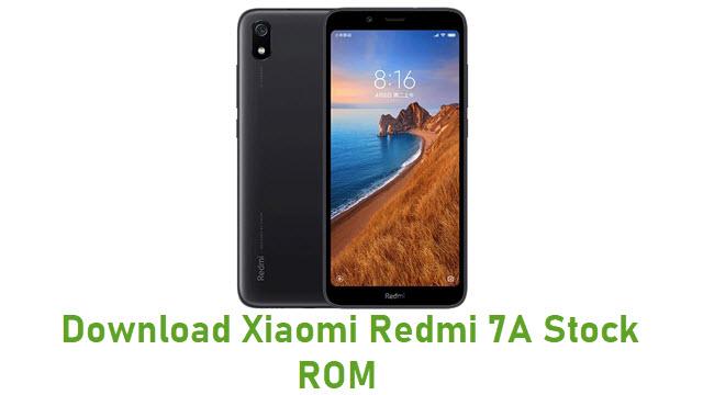 Download Xiaomi Redmi 7A Stock ROM