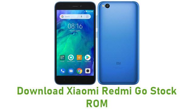 Download Xiaomi Redmi Go Stock ROM