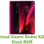 Xiaomi Redmi K20 Pro Stock ROM