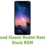 Xiaomi Redmi Note 6 Pro Stock ROM
