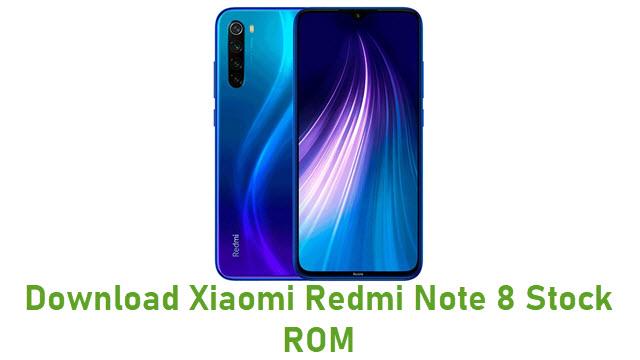 Download Xiaomi Redmi Note 8 Stock ROM