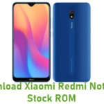 Xiaomi Redmi Note 8A Stock ROM