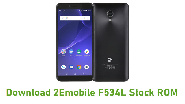 Download 2Emobile F534L Stock ROM