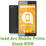 Arc Mobile Prime 500D Stock ROM