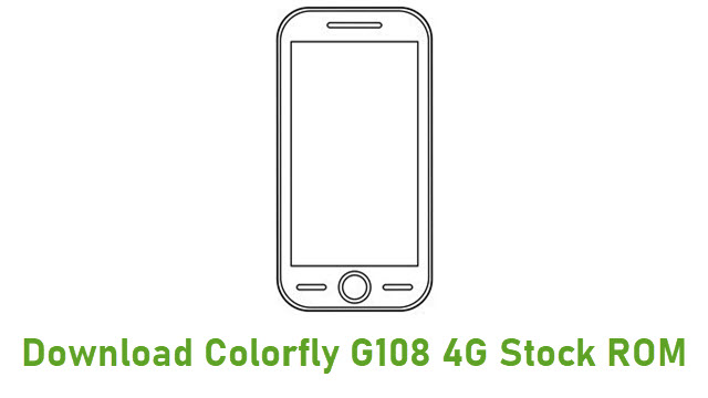 Download Colorfly G108 4G Stock ROM