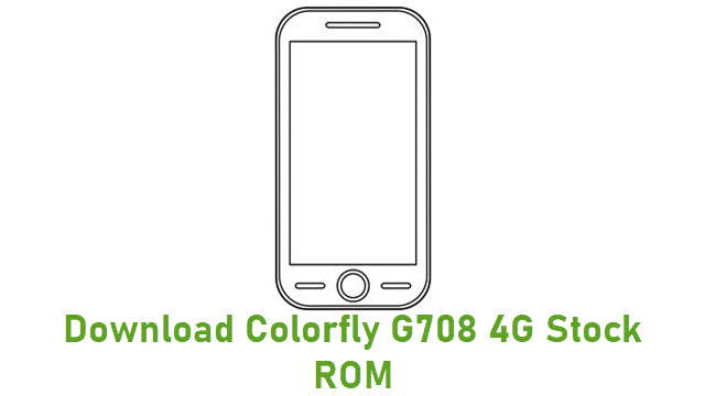 Download Colorfly G708 4G Stock ROM