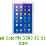 Colorfly G808 3G Octa Stock ROM