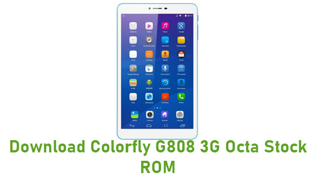 Download Colorfly G808 3G Octa Stock ROM