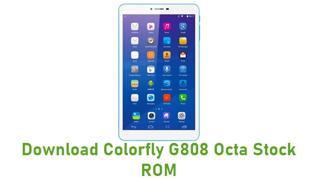 Download Colorfly G808 Octa Stock ROM
