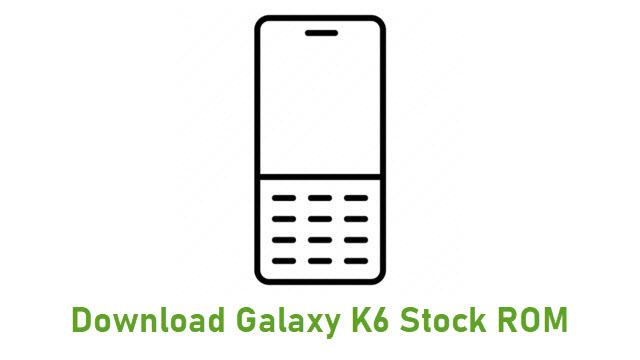 Download Galaxy K6 Stock ROM