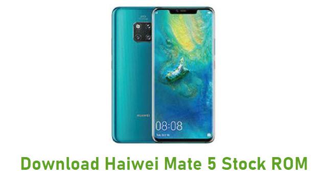 Download Haiwei Mate 5 Stock ROM