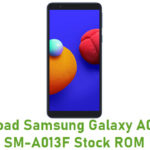 Samsung Galaxy A01 Core SM-A013F Stock ROM
