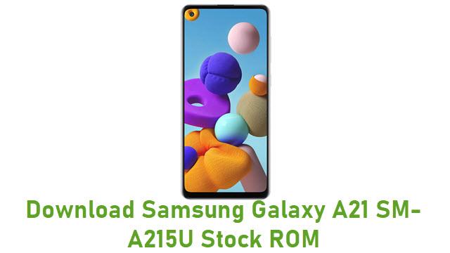 Download Samsung Galaxy A21 SM-A215U Stock ROM