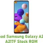 Samsung Galaxy A21s SM-A217F Stock ROM