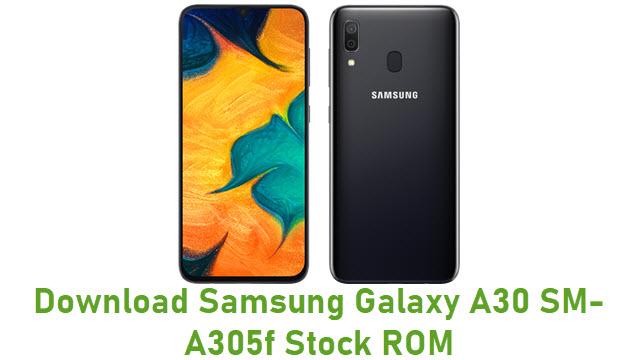 Download Samsung Galaxy A30 SM-A305f Stock ROM