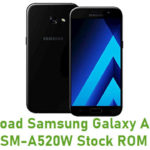 Samsung Galaxy A5 2017 SM-A520W Stock ROM