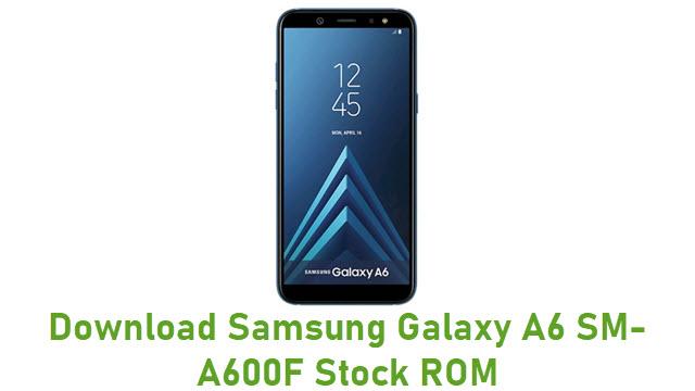 Download Samsung Galaxy A6 SM-A600F Stock ROM