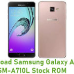 Samsung Galaxy A7 2016 SM-A710L Stock ROM