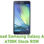 Samsung Galaxy A7 Duos SM-A700H Stock ROM