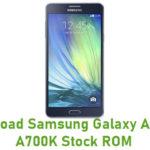 Samsung Galaxy A7 SM-A700K Stock ROM