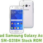 Samsung Galaxy Ace 4 Neo SM-G318H Stock ROM