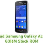 Samsung Galaxy Ace 4 SM-G316M Stock ROM