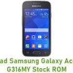 Samsung Galaxy Ace 4 SM-G316MY Stock ROM