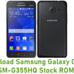 Samsung Galaxy Core 2 SM-G355HQ Stock ROM
