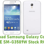 Samsung Galaxy Core Lite LTE SM-G3589W Stock ROM