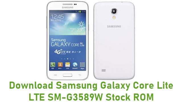 Download Samsung Galaxy Core Lite LTE SM-G3589W Stock ROM