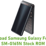 Samsung Galaxy Folder 2 SM-G165N Stock ROM
