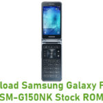 Samsung Galaxy Folder SM-G150NK Stock ROM