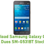 Samsung Galaxy Grand Prime Duos SM-G531BT Stock ROM